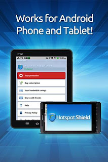 Hotspot Shield 2.8 for Android and Tablet