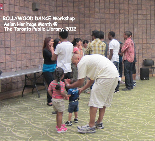 TORONTO PUBLIC LIBRARY - BOLLYWOOD DANCE ! Workshop