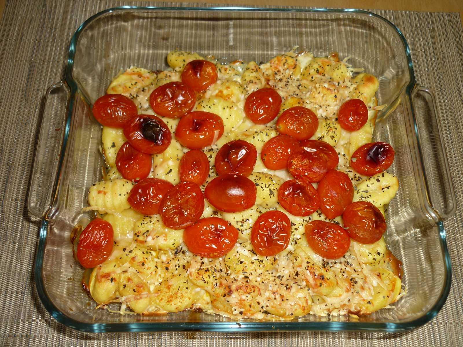 Gnocchis aux tomates cerise blogs de cuisine - Cuisiner des gnocchis ...
