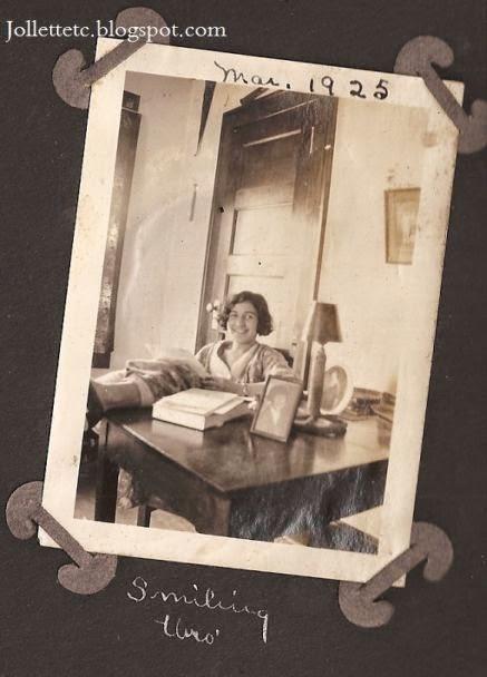 Leta LeVow March 1925