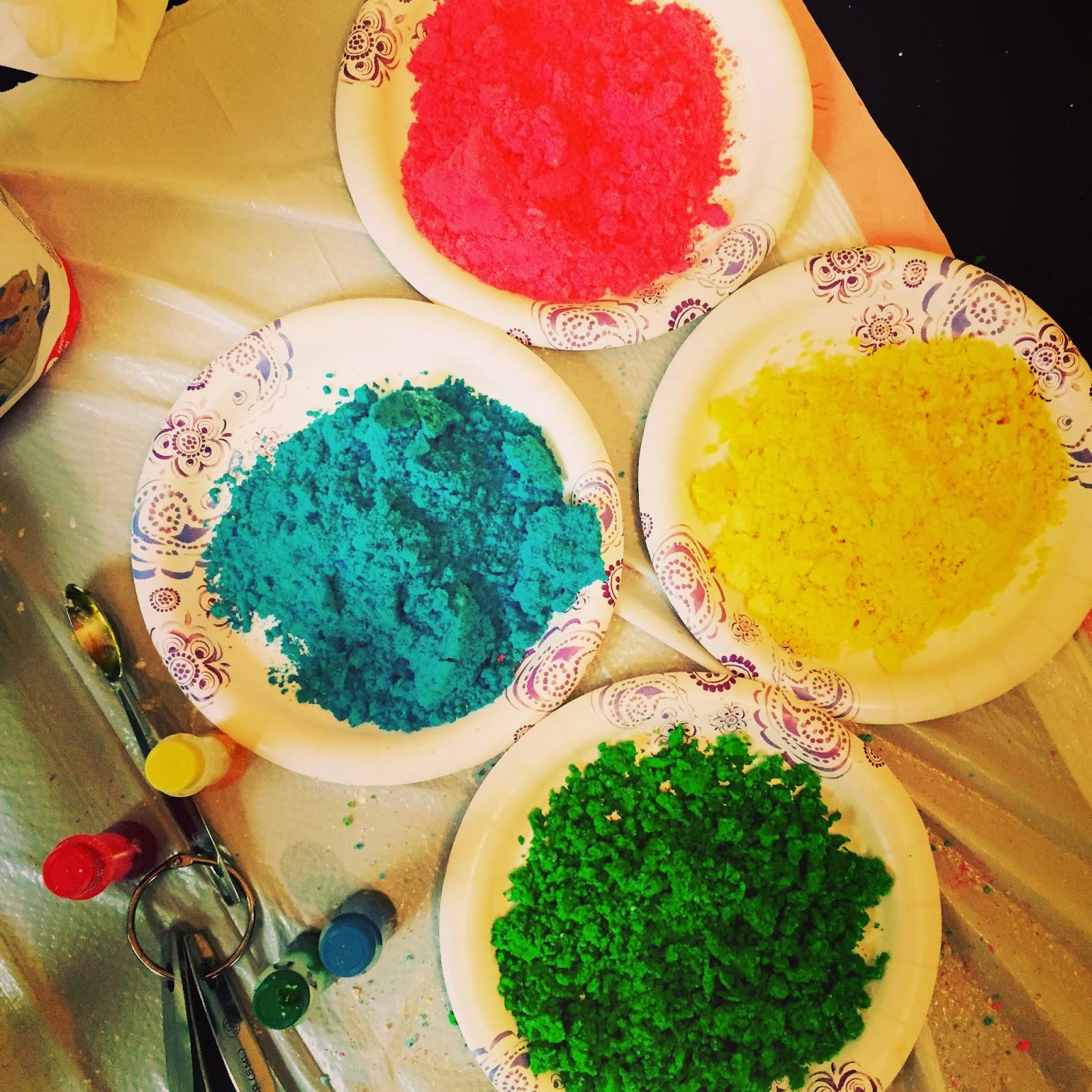 designing life: HAPPY HOLI!! Homemade Chemical-free Holi Colors