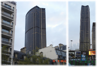 Two views of Montparnasse Tower