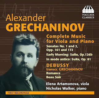 Alexander Grechaninov: Complete Music for Viola and Piano