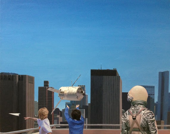Paintings by Scott Listfield