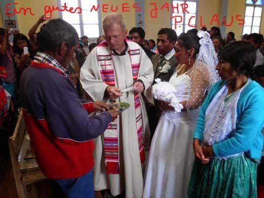 Ein Frohes und gesundes Neues Jahr wünscht Ihnen Padre Claus Braun