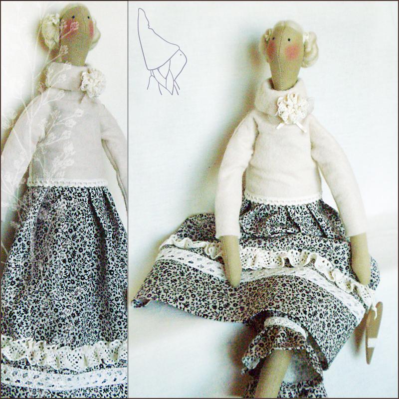 Скандинавские куклы своими руками 45