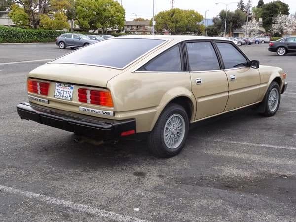 1980 Rover 3500 Original Survivor Auto Restorationice