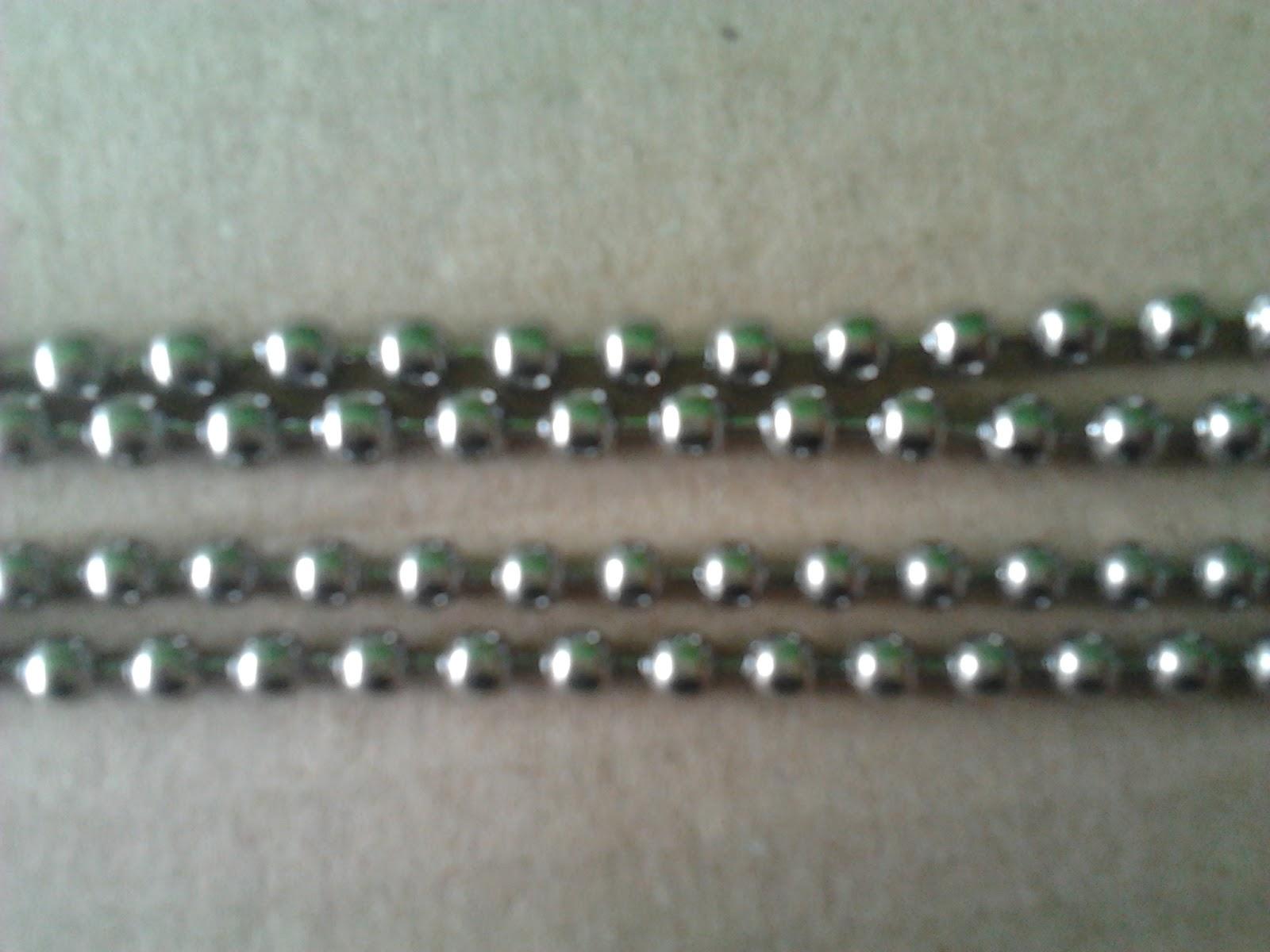 Produk Kalung Cowok Besi Putih: Macam macam Kalung Besi Putih