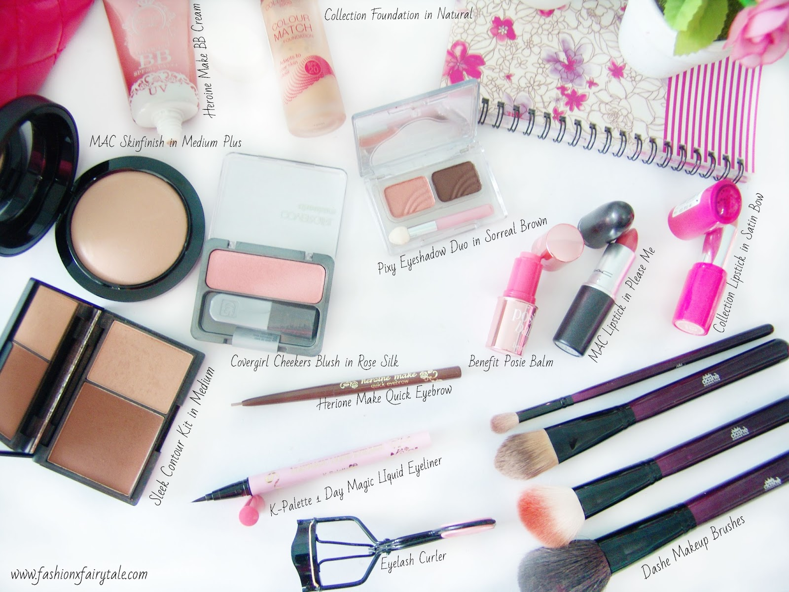 Whats In My Makeup Bag Fashion Fairytale Pixy Eyebrow Brown Base