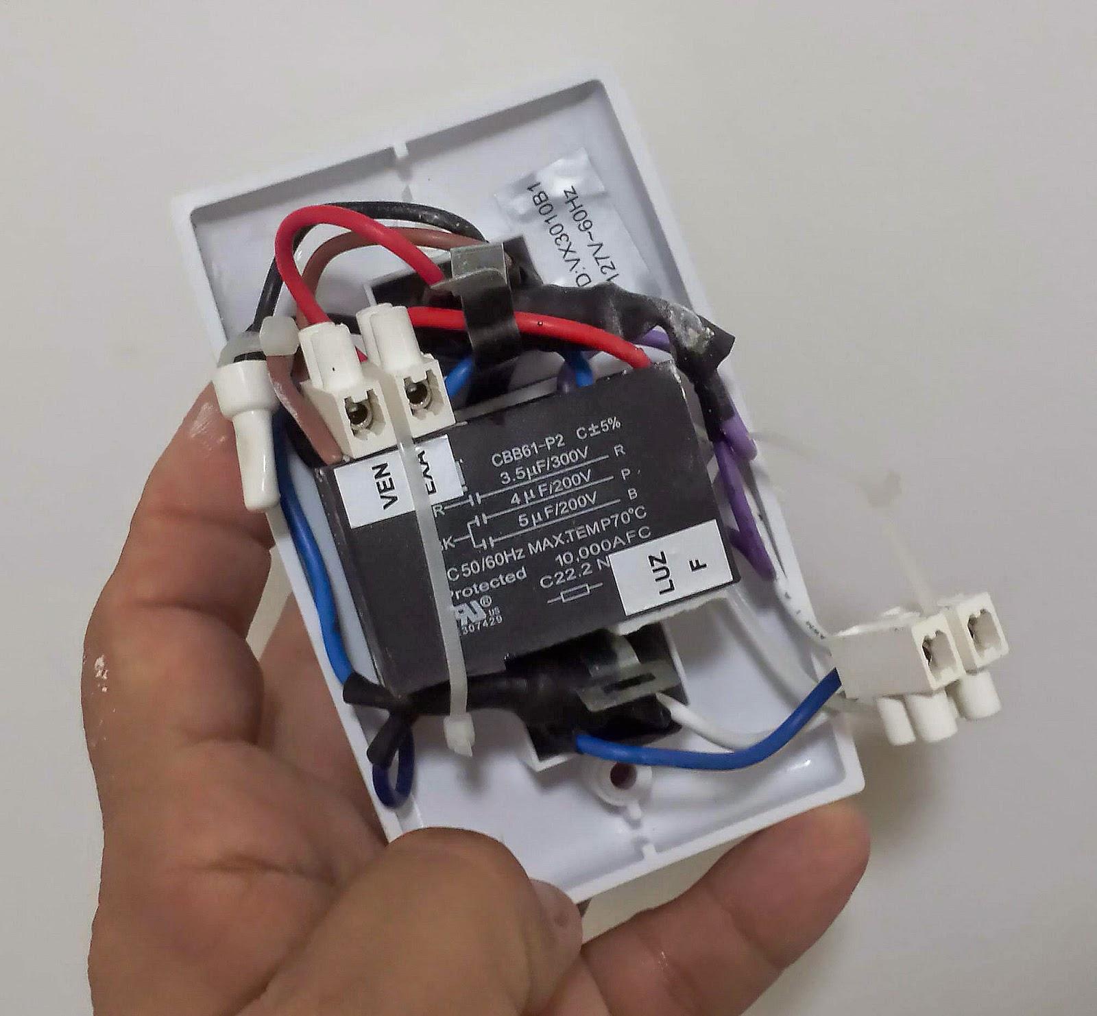 Schema Elettrico Elettrificatore : Circuito eletrico de ventilador teto suporte on line