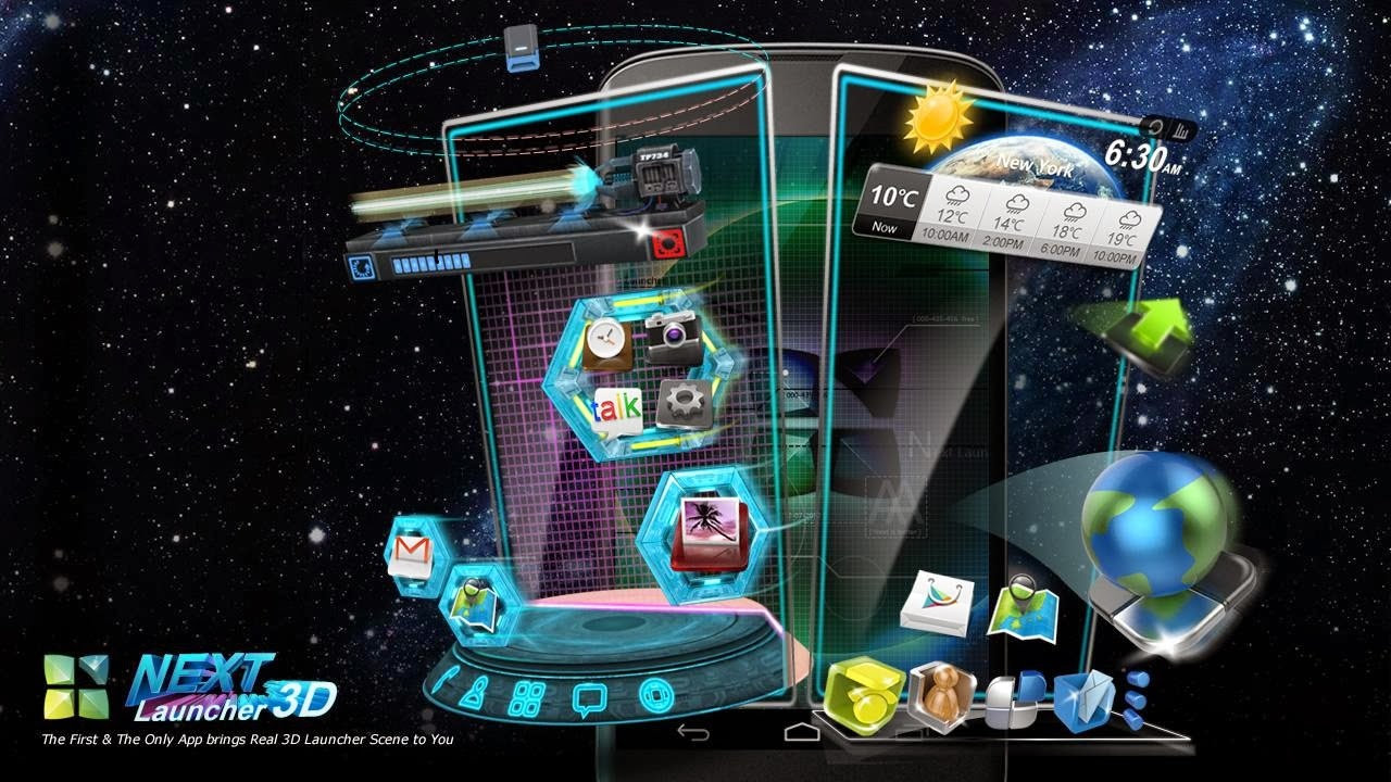 next launcher 3d apk 2 07 patched premium app download