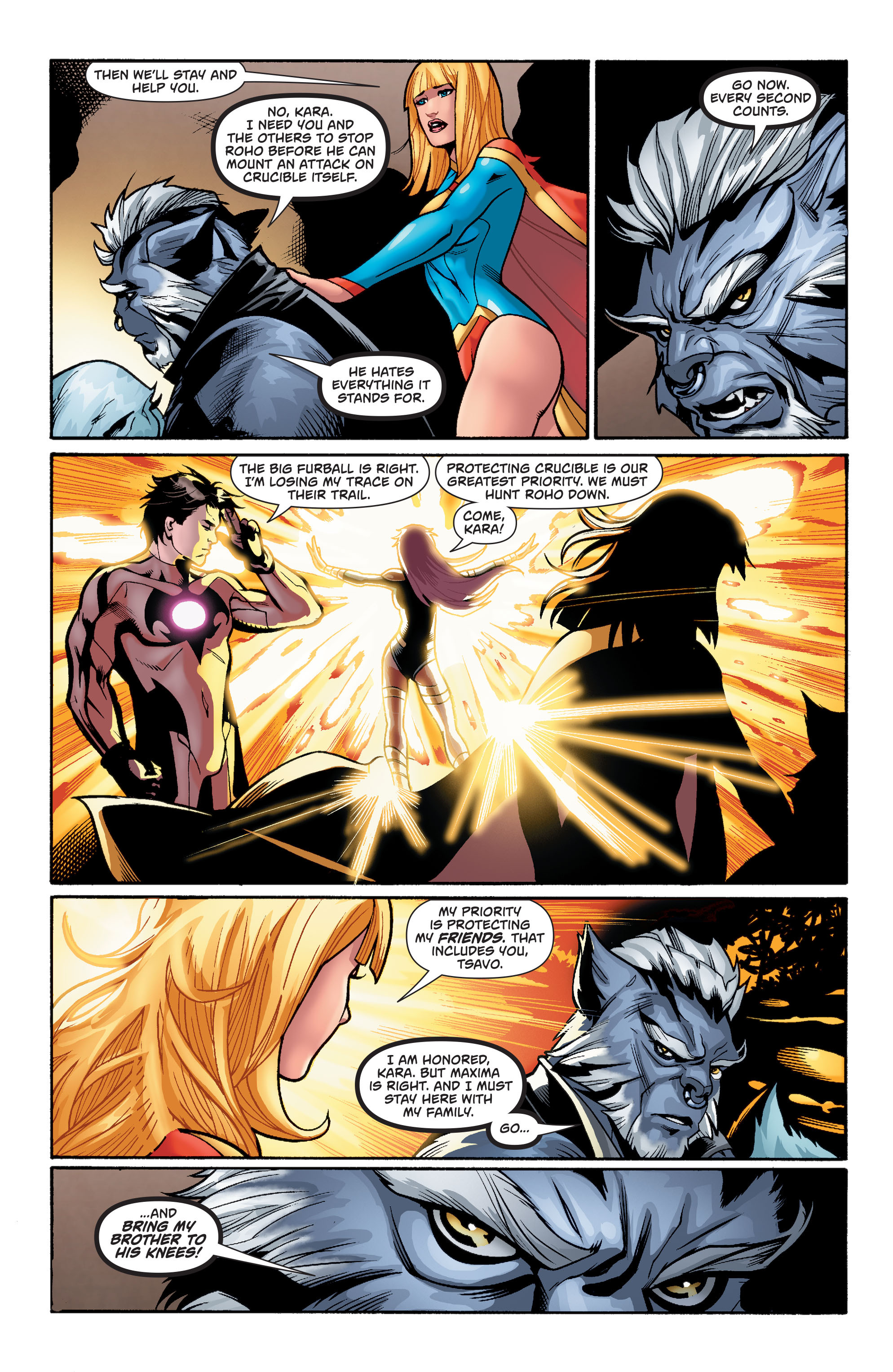 Supergirl (2011) Issue #38 #40 - English 9