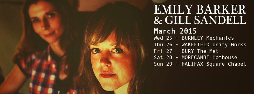 Emily Barker & Gill Sandell - on tour March 2015