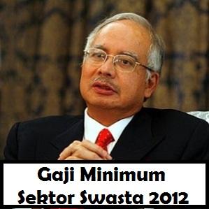 Perdana Menteri Umum Gaji Minimum