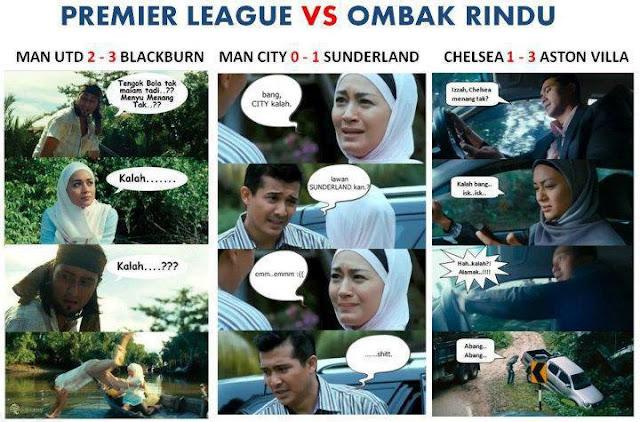 EPL vs Ombak Rindu