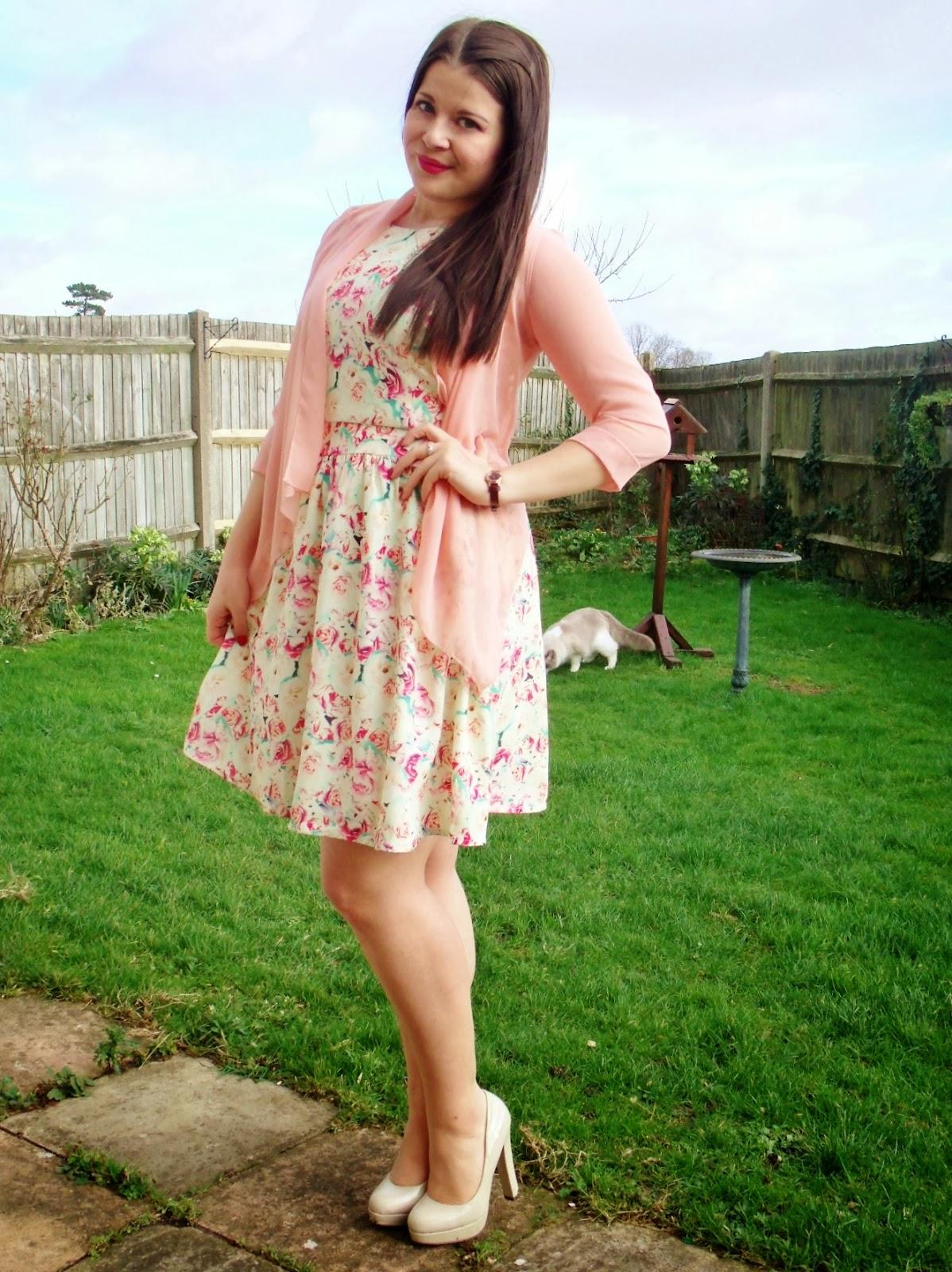 Pop look dress facebook color