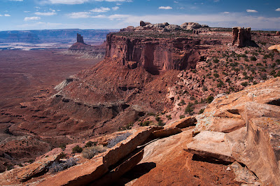 Canyonlands National Park: Candlestick Tower Overlook