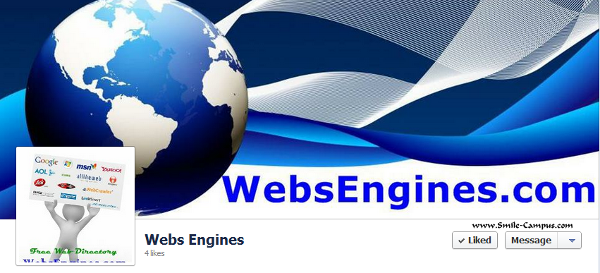 Facebook Fan Page of WebsEngines.com