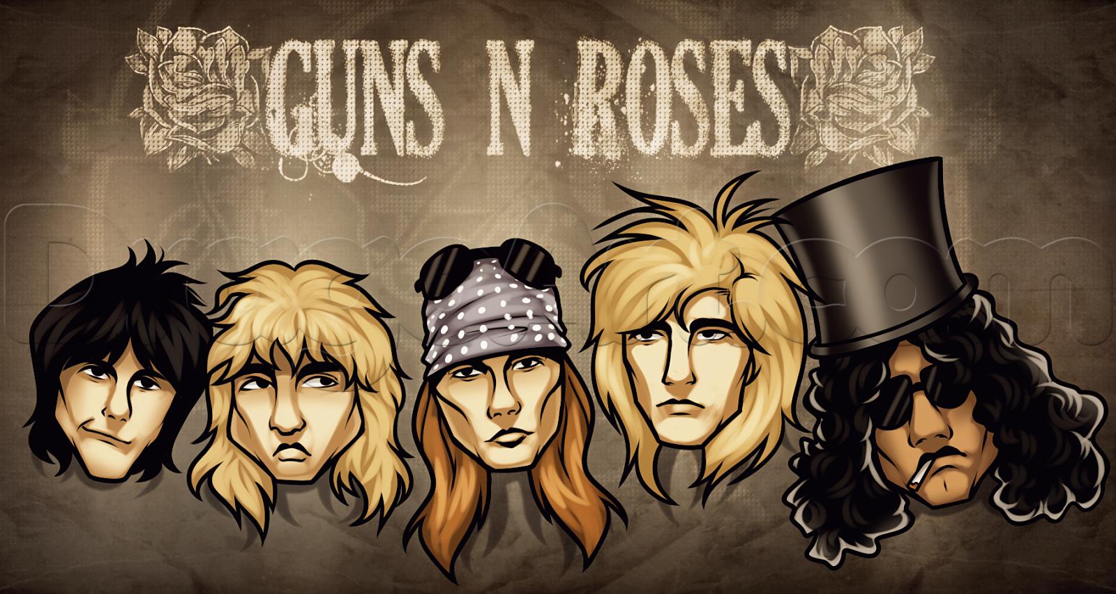 Download Kumpulan Lagu Guns N Roses full album Mp3