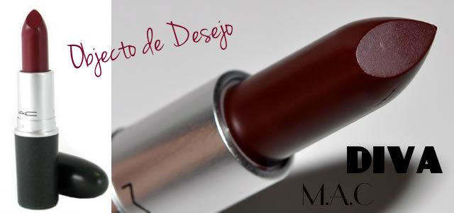 mac diva lipstick batom