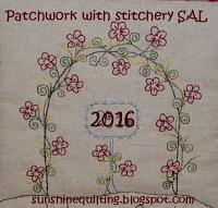 Auch dieses Jahr trifft Patchwork auf Stickerei