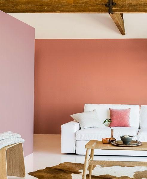 Interieurcursus kleurtrend 2015 colour future flexa koper oranje - Kleur trend salon ...