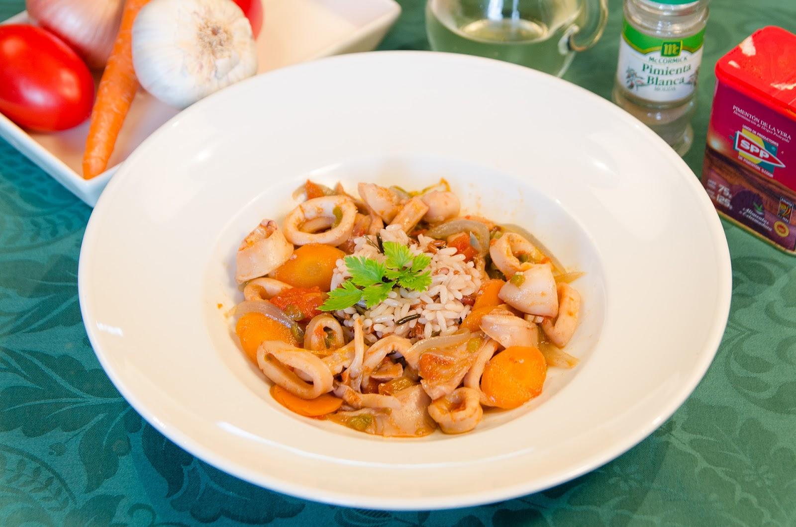 recetas-adelgazar-ligera-quema-grasas-calamares-verduras-cocina-dieta-sana-saludable-bruja