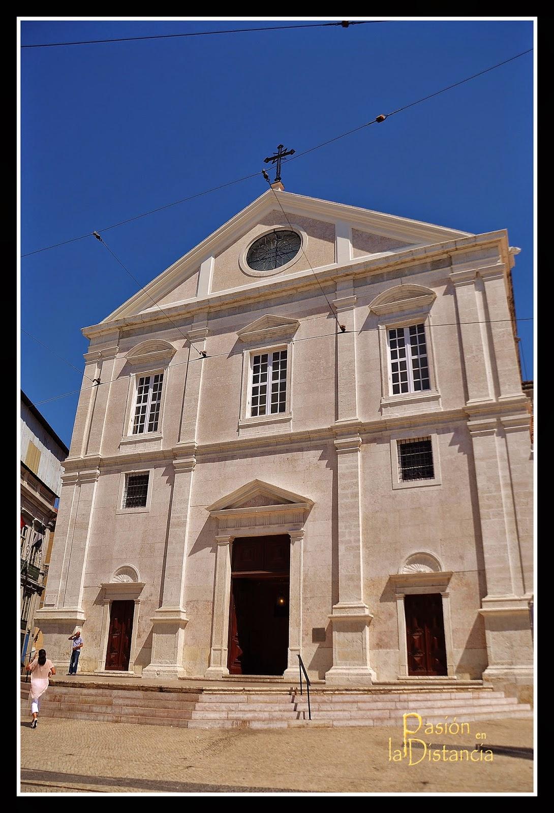 Exterior fachada San Roque de Lisboa