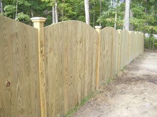 Деревянный забор. Фото 44