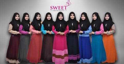jubah muslimah sweet muslimah