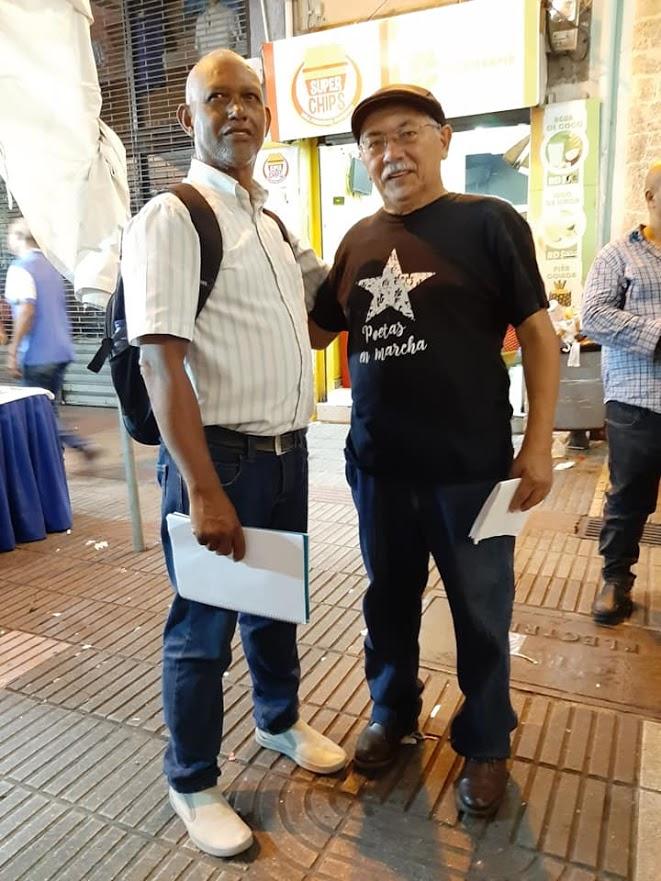 Willian Perez Vega y yo.