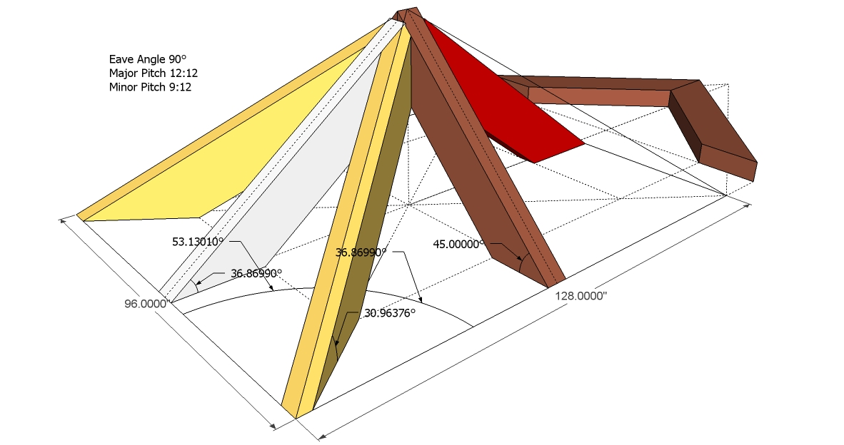 Chappell Master Framing Square Unequal Pitched Roof Review