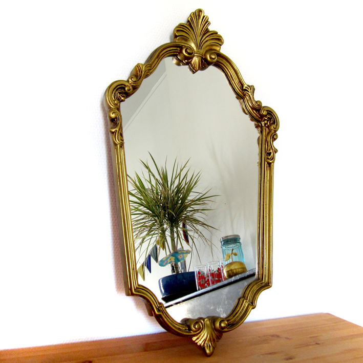 Old things - Vintage - miroir - http://spicerabbits.blogspot.fr/