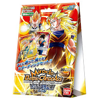 Miracle Battle Carddass Dragon Ball Kai Deck 4