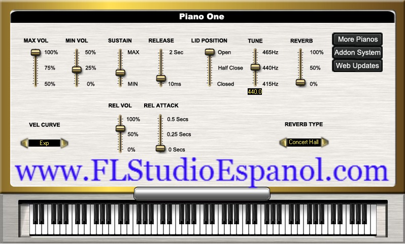 piano one vst