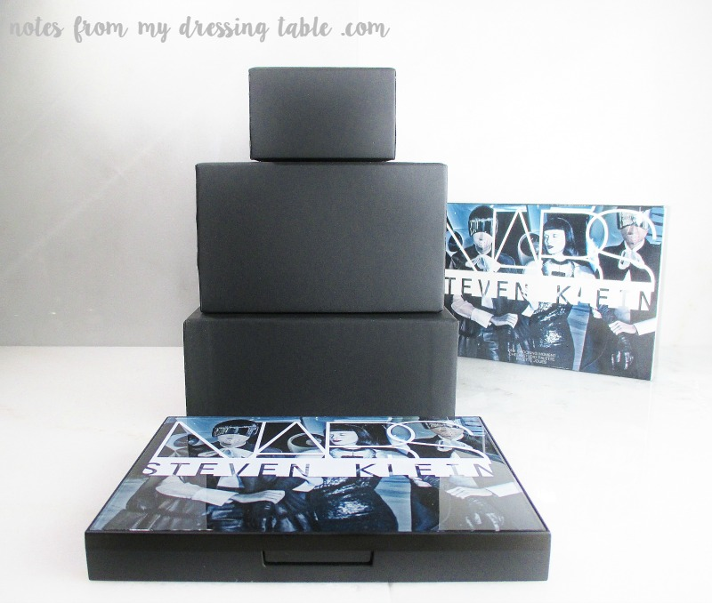 NARS Steven Klein Collaboration One Shocking Moment Face Palette notesfrommydressingtable.com
