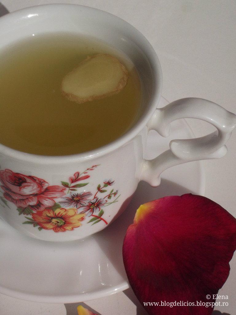 ceai de ghimbir proprietati