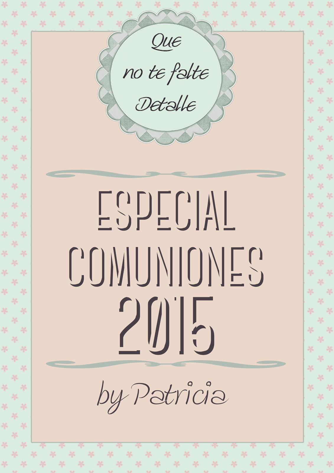 ESPECIAL COMUNIONES 2015