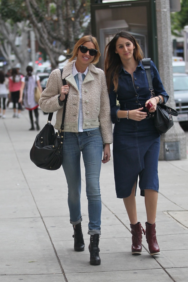 Whitney Port and friend Jo Scapa