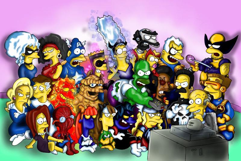 Симпсоны онлайн смотреть 3 фотография