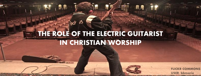 Electric Guitar Christian Worship