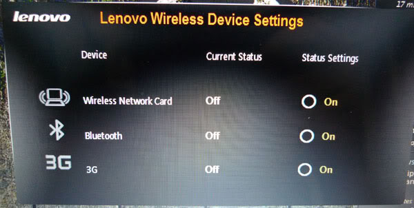 how to turn on wifi in lenovo thinkpad t400