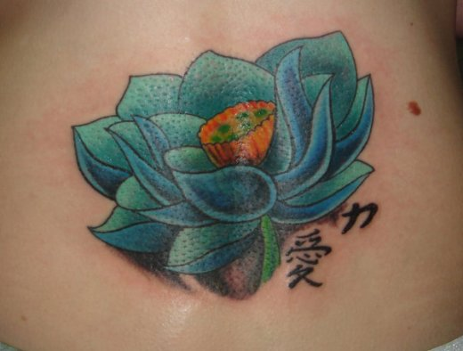 tattoo flor de lotus azul tattoo lotus roxo tattoo lotus