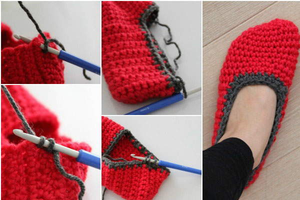 Bichus Amigurumis: Easy Slippers - Pantuflas superfaciles
