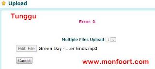 Cara Upload File Di Ziddu