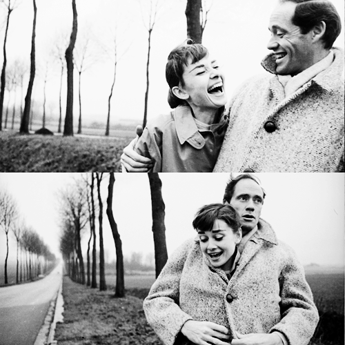 Audrey Hepburn couple