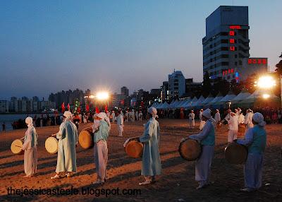Gwangan Eobang Festival. Busan, South Korea.