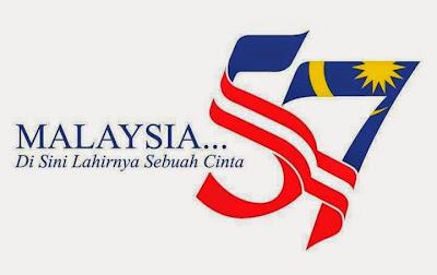 Tema dan Logo Kemerdekaan 57 Malaysia Tahun 2014