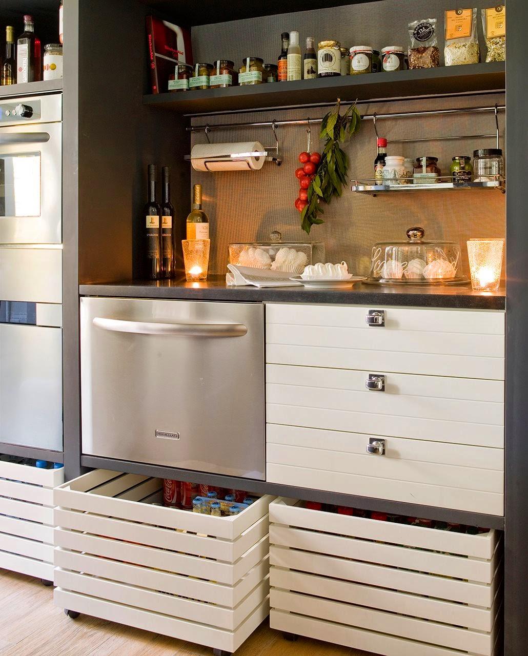 Detalhes do c u arm rios na cozinha - Mueble almacenaje cocina ...