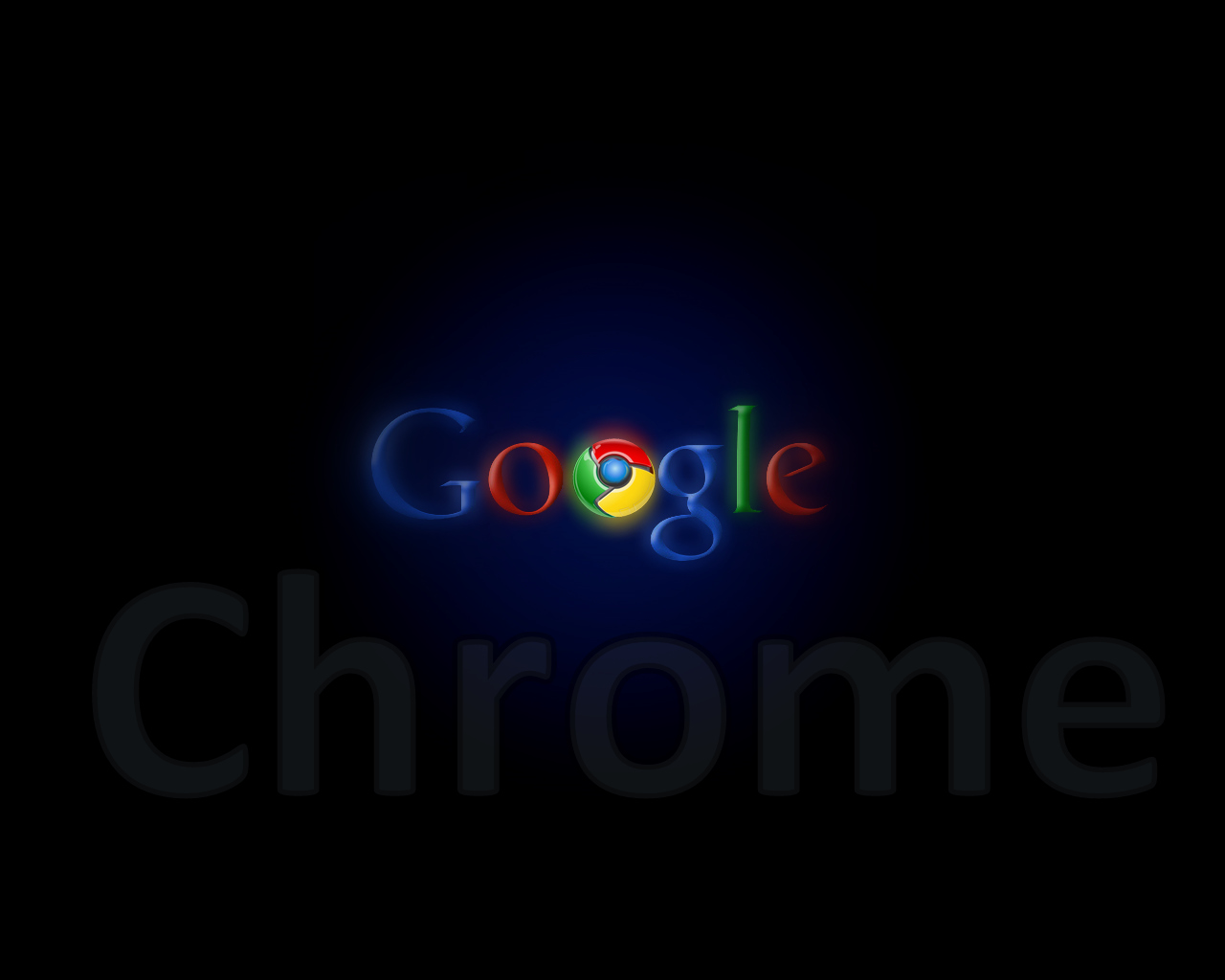 how to turn google chrome black